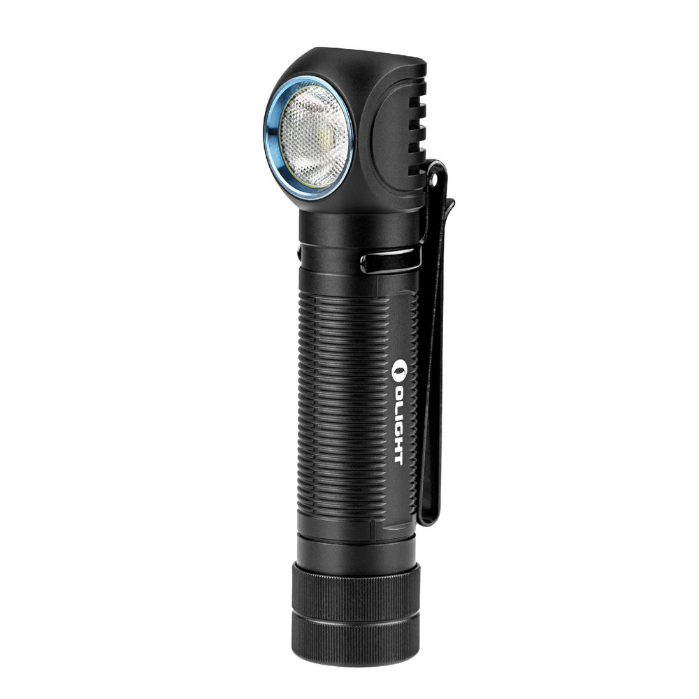 H2R Nova - The H2R Nova is Olights first 18650 battery headlamp/pocketlight with a groundbreaking 2300 ANSI rated lumens.