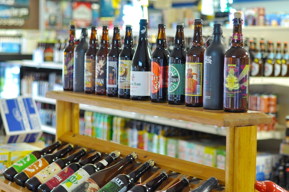Micro brewery beer