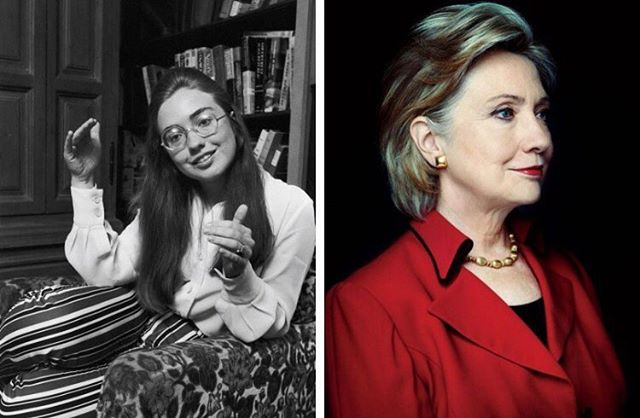 This is the best example in history of how much better a woman needs to be at the same job to be taken seriously relative to a man. #imwithher #hillaryclinton #getitgirl #🌹
