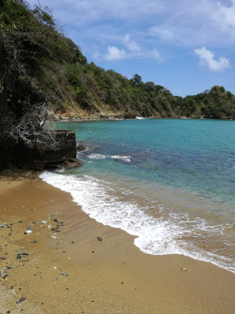 This is the beach opposite the site, and it's a perfect place for a picnic..so come prepared!