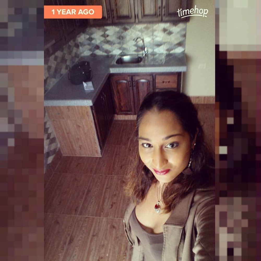 This was the day I signed my lease!