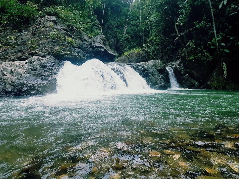 The magnificent Matelot Waterfall..  Photo Courtesy: Raj Ramkissoon