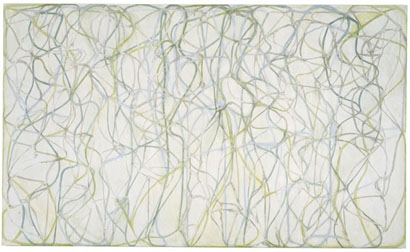 Brice Marden The Muses, 1991-96; Oil on Linen
