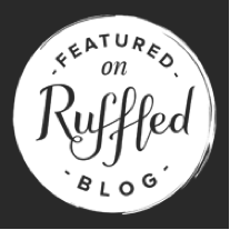 Ruffled Badge