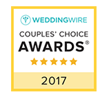 Wedding Wire Couples' Choice Award Winner 2017 Badge