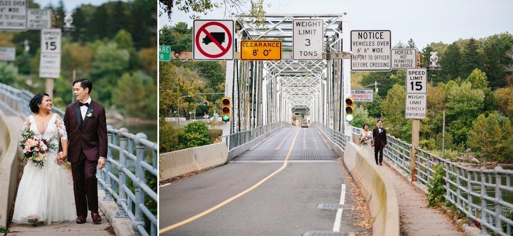 21_WashingtonCrossinInnWedding_SonyaYruel_Bride_Groom_DelawareRiver_Bridge.jpg