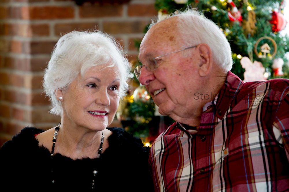 Byron and Betty - A couple with class and prestige.  Byron and Betty have been married 61 years and it's easy to tell they are still in love.  Enjoy.