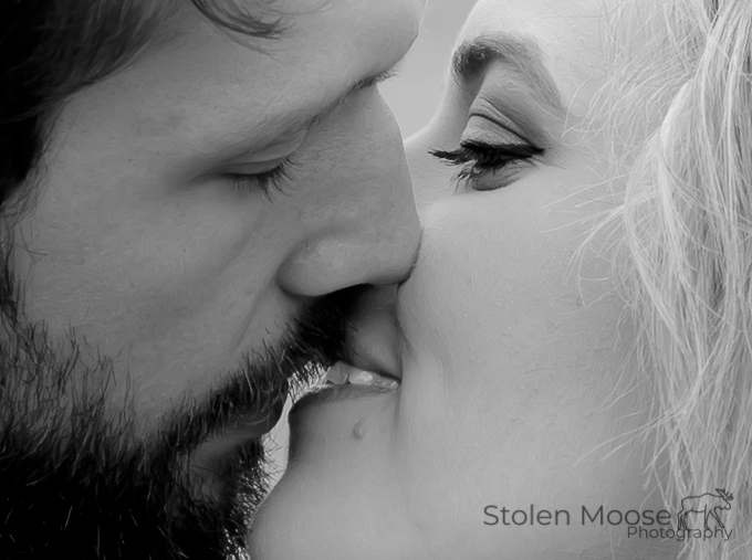 The Kiss by Stolen Moose Photography