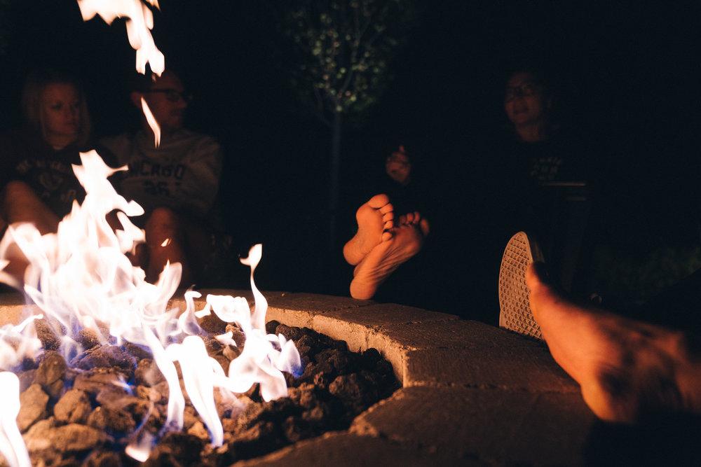 Campfire tales.