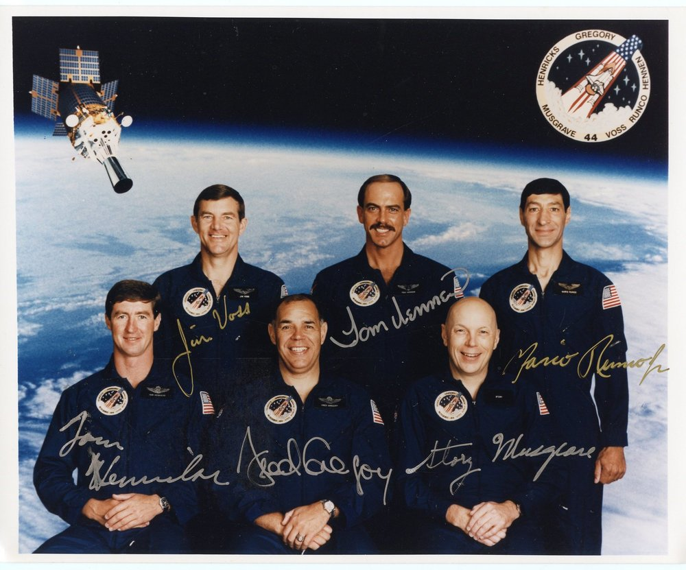 SSCP 202 STS 44 — Astronaut Ar...