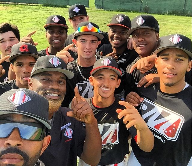 This team is a true testament of what JMF is all about!!! Great win today like always but more importantly great job getting better EVERYDAY!!! Love u guys!!! @mlb congrats @al3x.23 on hitting for the cycle!!!