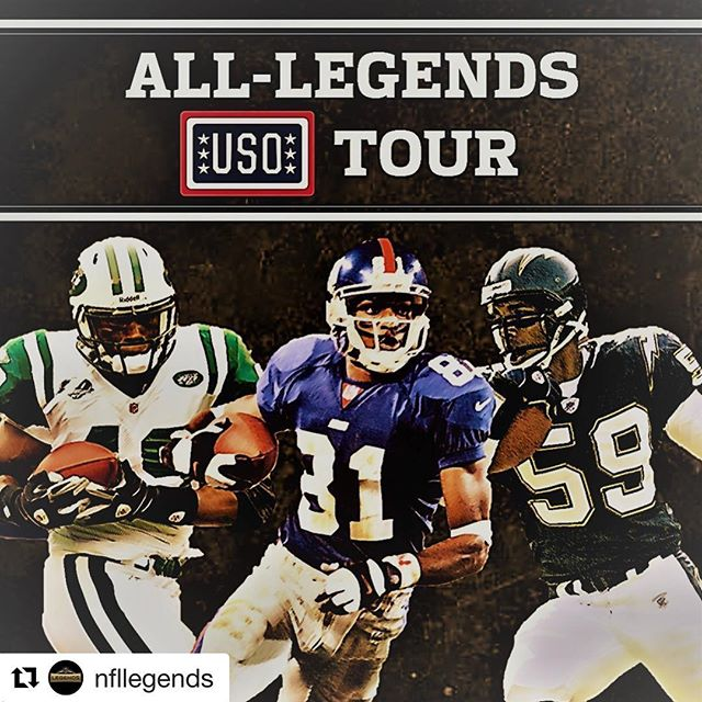 #Repost @nfllegends with @get_repost ・・・ Tony Richardson, Amani Toomer and Donnie Edwards are on their way to 🇯🇵 for the first All-Legends USO Tour. They'll be checking in throughout the week, head up 🔝 to our story to stay posted on their journey! #SaluteToService