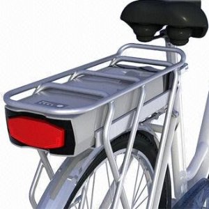 Rear Rack Mount Battery Pack