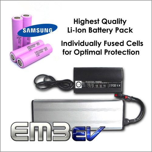 EM3ev 14.8Ah / 50v Li Ion Battery Pack
