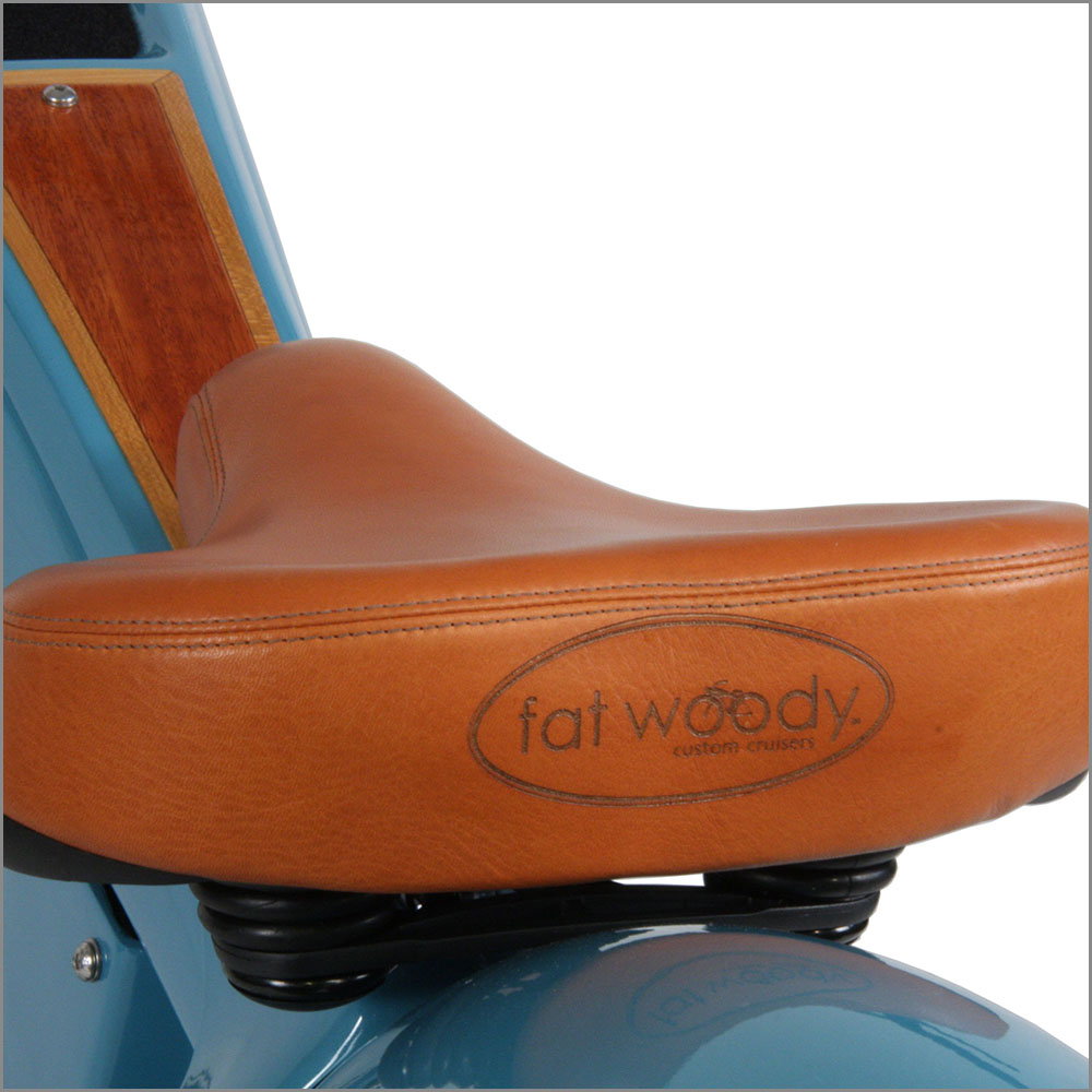 Ultra-soft Custom Leather Seat