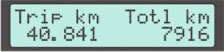 Display Screen #9 - Odometer