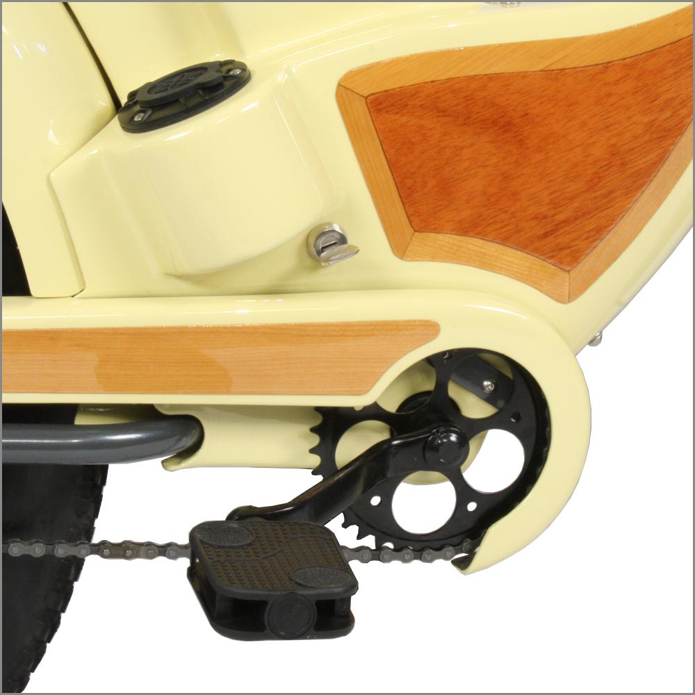 Key switch enables/disables e-bike electrics