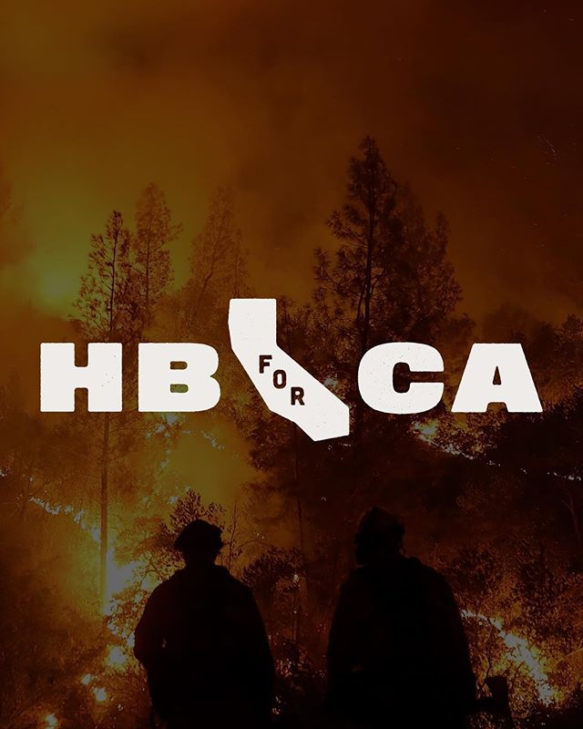 Today only (Black Friday) @howlerbros is giving 50% of online sales to relief efforts for the victims of the California wildfires. Purchase with purpose and give beyond the gift ♥