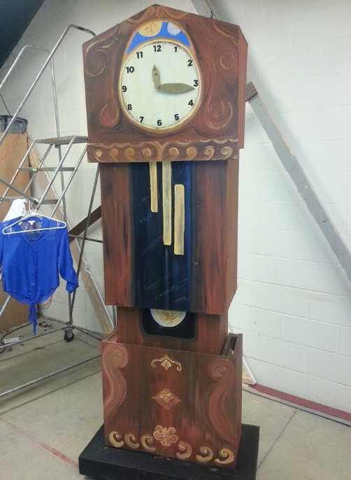 Clock redesign for Nutcracker production
