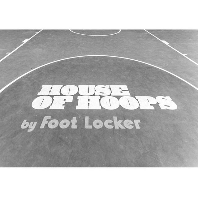...on the Nike Makers Court stage from 1-4 today for @houseofhoops @nike event    Hollywood & Highland. Come hang.
