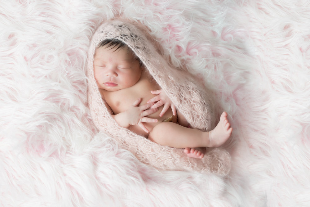 Baby Malia | Newborn Session | Campbell Kamine Photography--5.jpg
