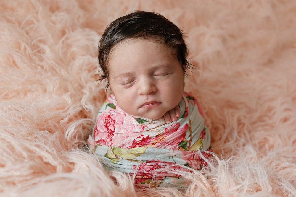 Mint Floral wrap | Potato Sack Pose