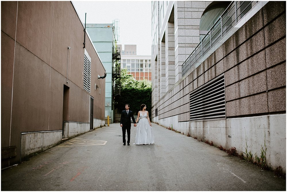 the permanent photos downtown vancouver intimate wedding photography