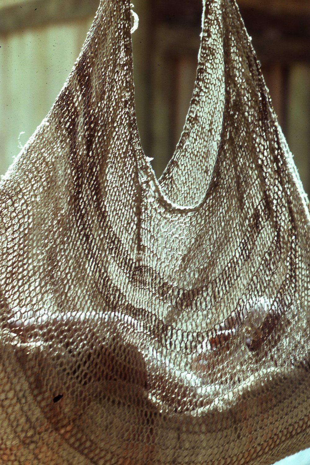 Abau child in string bag, Bifrou, 1982 (Photo M. MacKenzie).