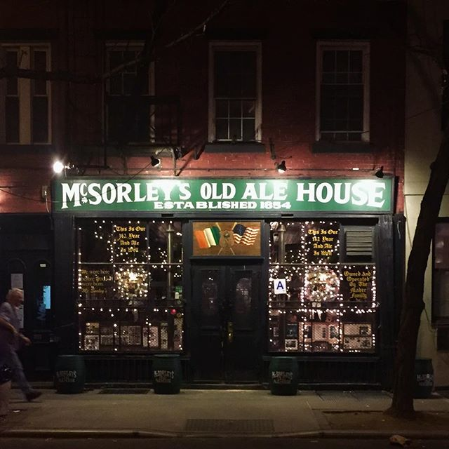Topping my list of favorite bars in New York is McSorley's. . . . . #mcsorleys #nyc #newyork #newyorkcity #downtown #manhattan #bar #travel