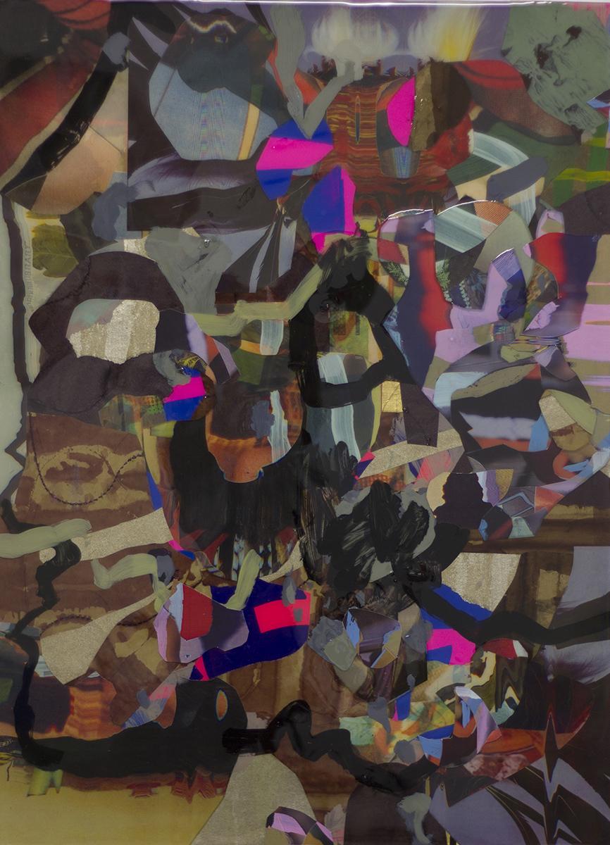 """Orogene 2 (2014), mixed media, 31.5x23.5"""""""