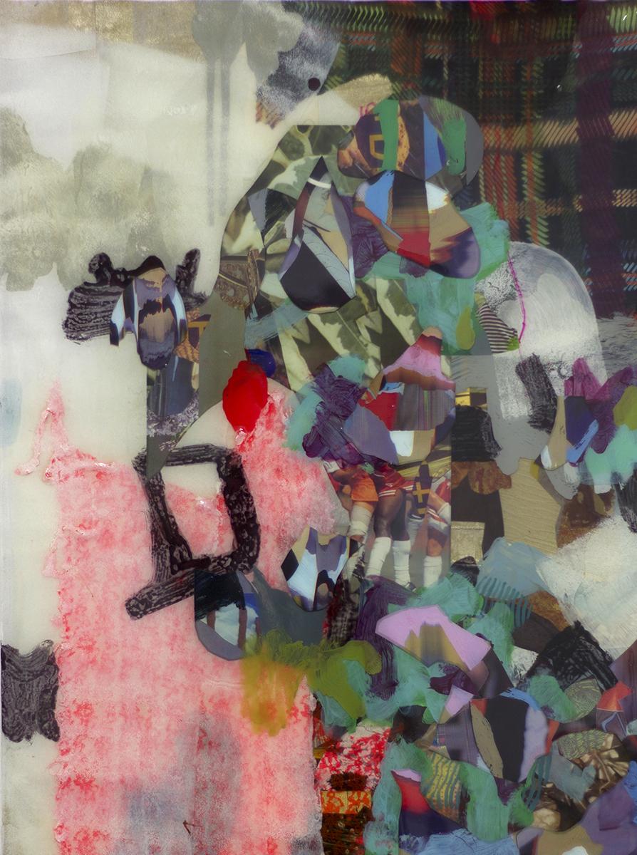"""Orogene 1 (2014), mixed media, 31.5x23.5"""""""