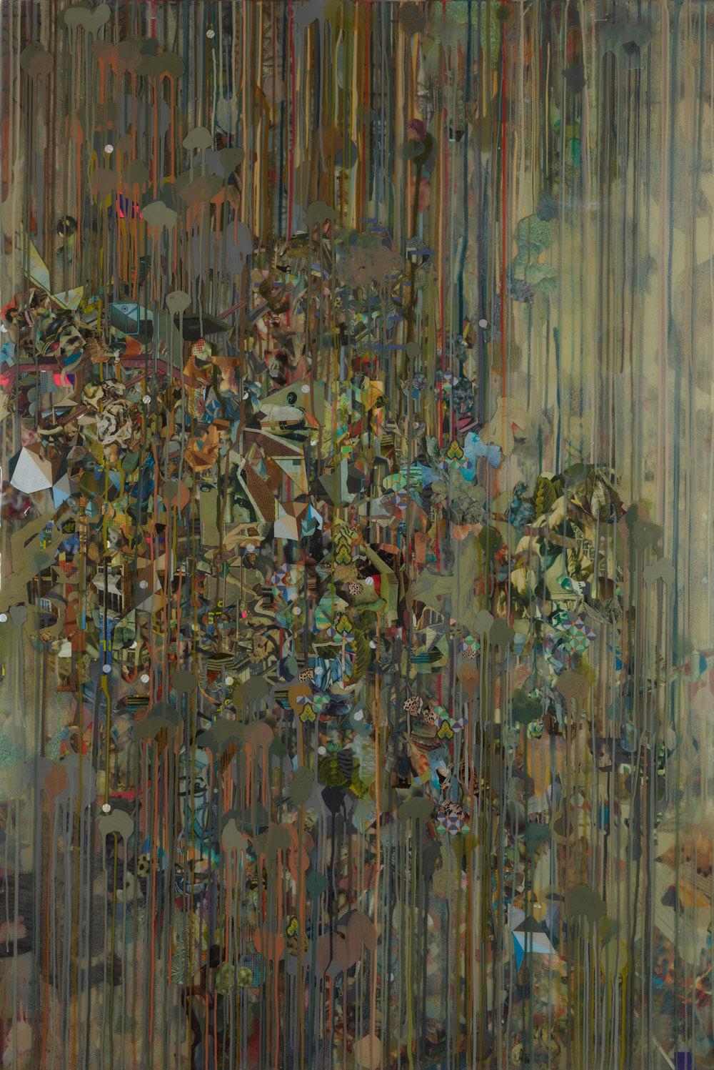 """Jachin (2013), mixed media, 48x72"""""""