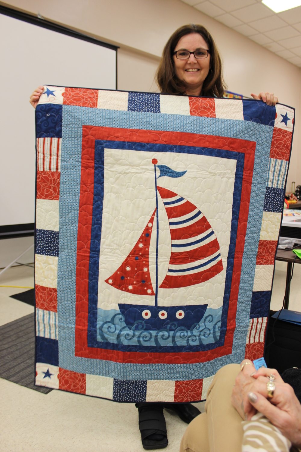 January 2016 Birthday quilt winner Christine Piazza.jpg