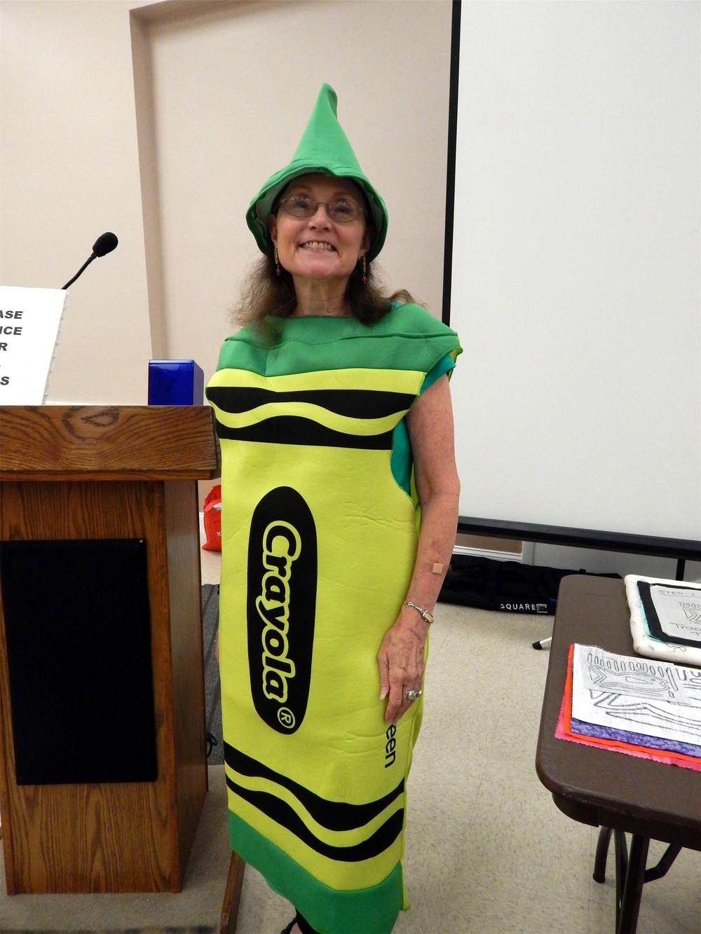 Judy Shelton's August costume.JPG