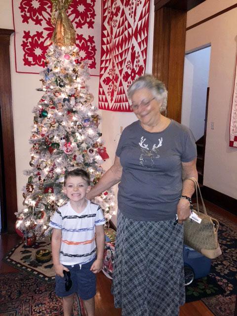 Joyce Beckman and her grandson.jpg