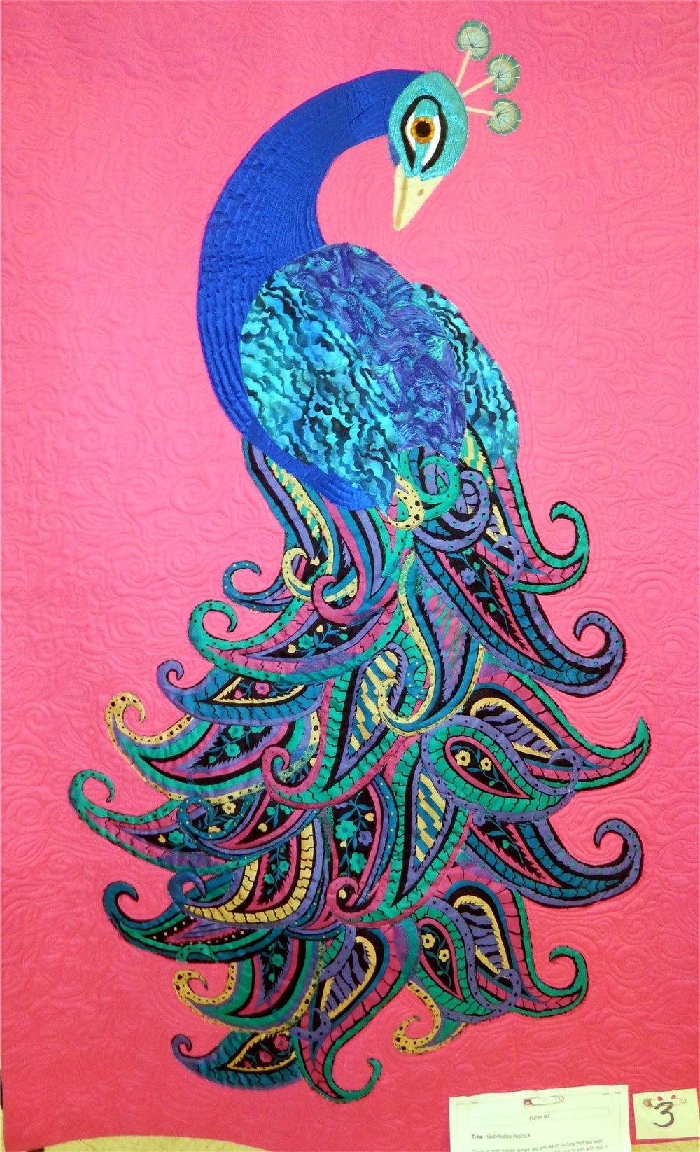 Rad Paisley Peacock
