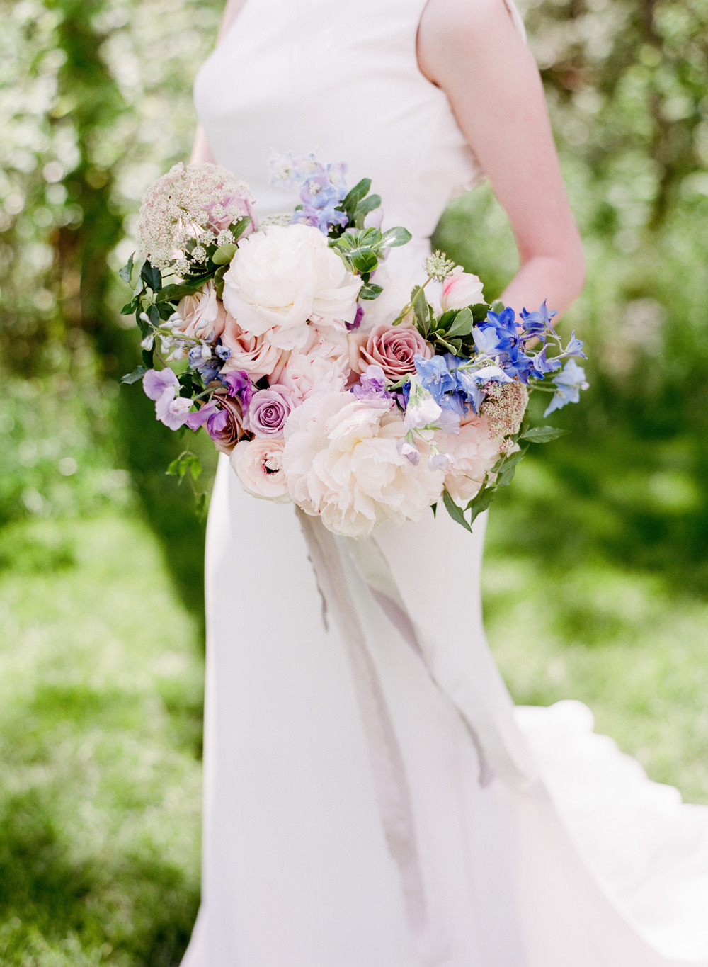Garden Inspired Bridal Bouquet - Wedding Flowers Winnipeg