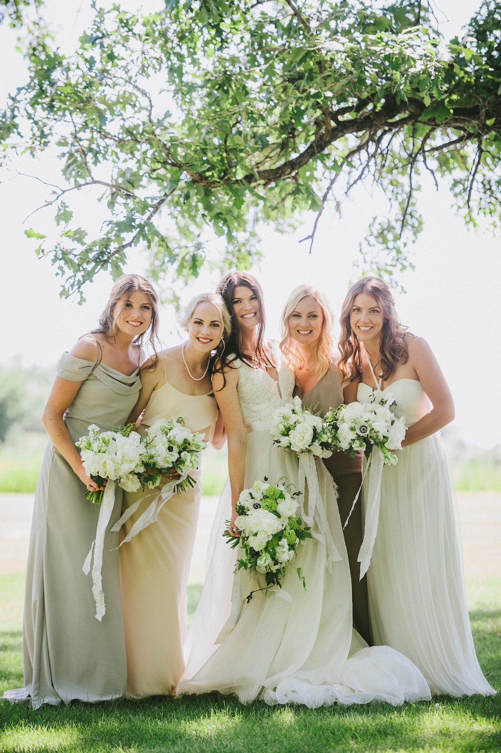 Neutral Bridesmaid Dresses - Wedding Ideas
