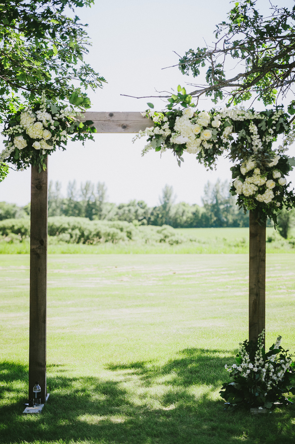 Ceremony Floral Arch - Winnipeg Wedding Florists