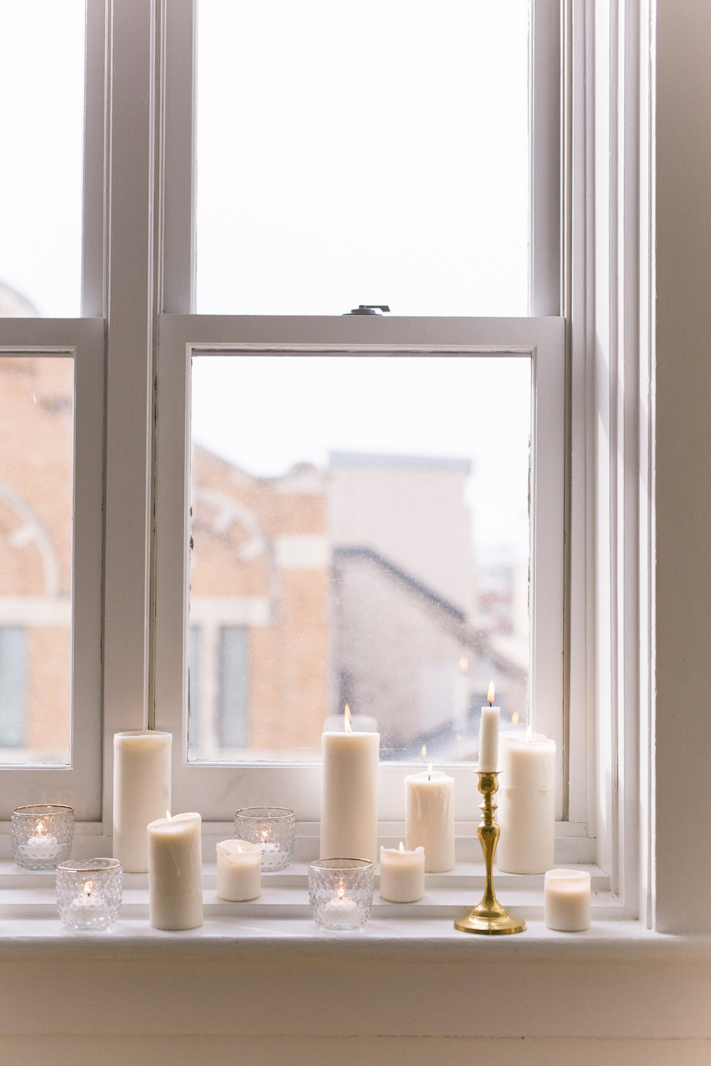 Wedding Candle Decor - Winnipeg Wedding Florist