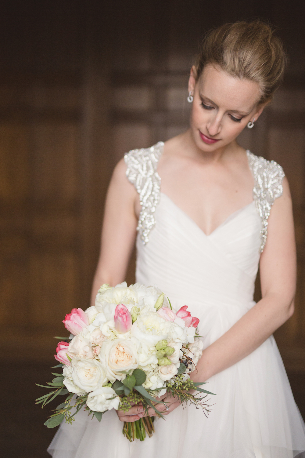 Blush Bridal Bouquet - Wedding Florist in Winnipeg