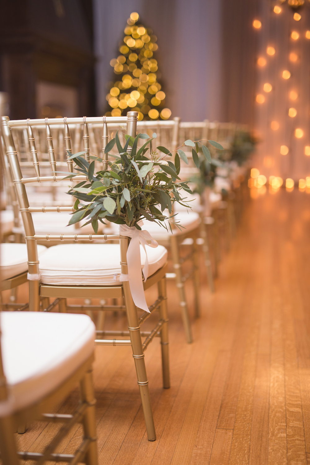 Wedding Aisle Decor - Winnipeg Wedding Florist