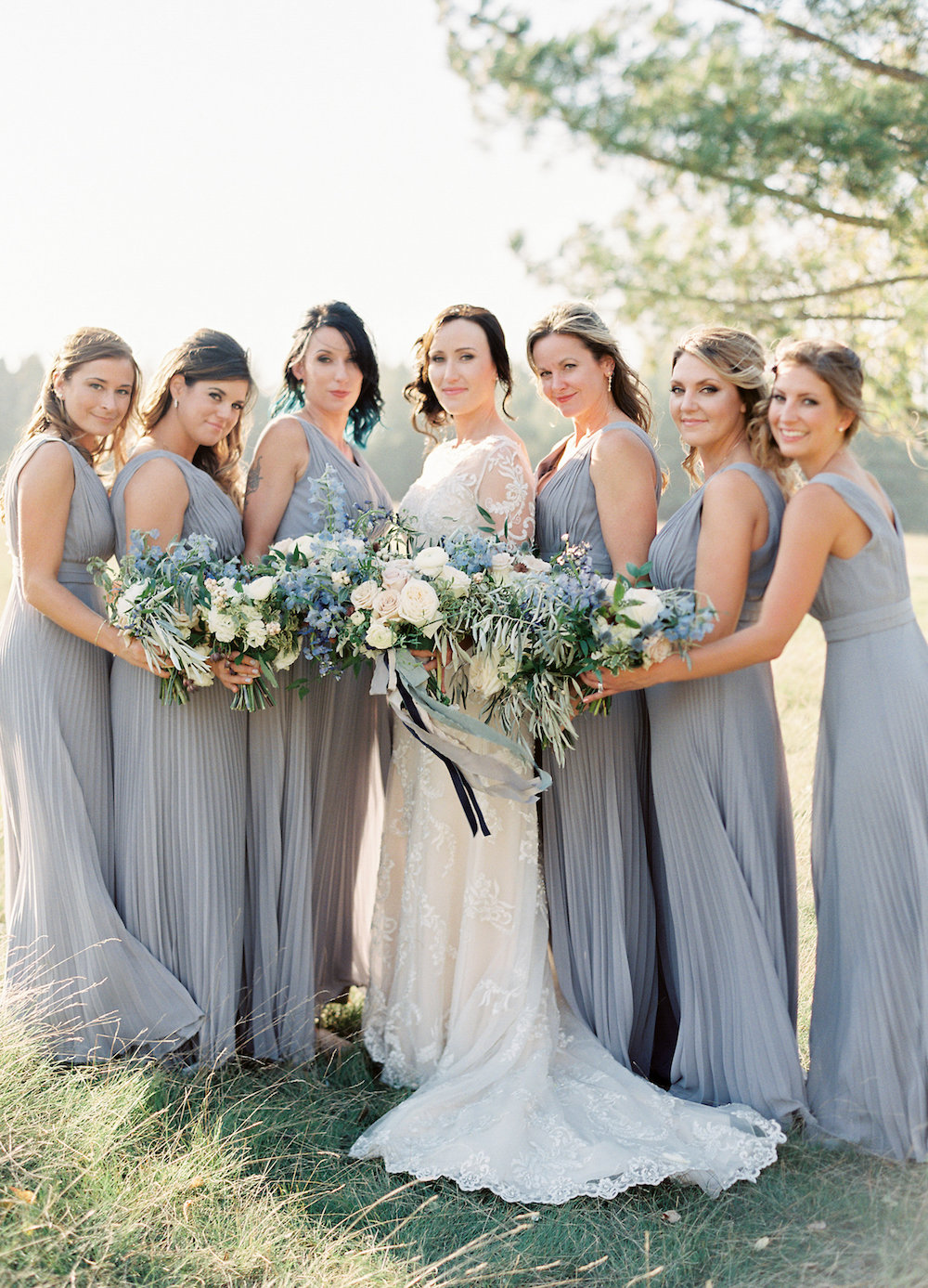 Grey Bridesmaid Dress Ideas - Winnipeg Weddings