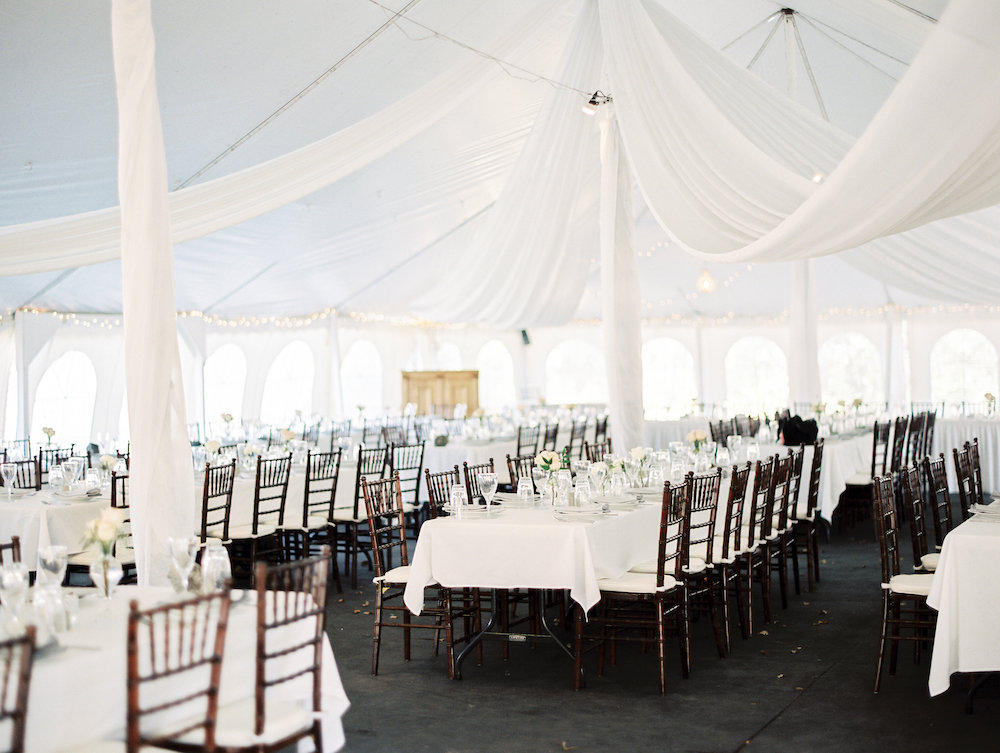 Pineridge Hollow Wedding - Tent Wedding Ideas
