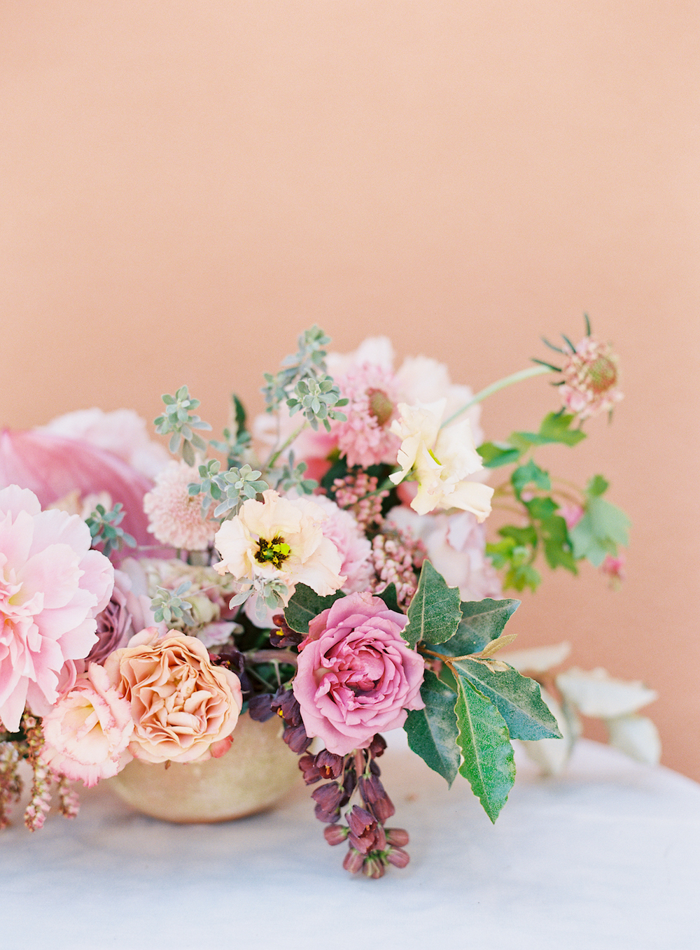 Pink Wedding Flowers - Stone House Creative