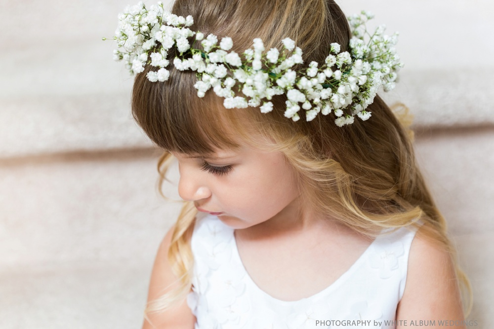 Flower Girl Halo - Winnipeg Wedding Flowers