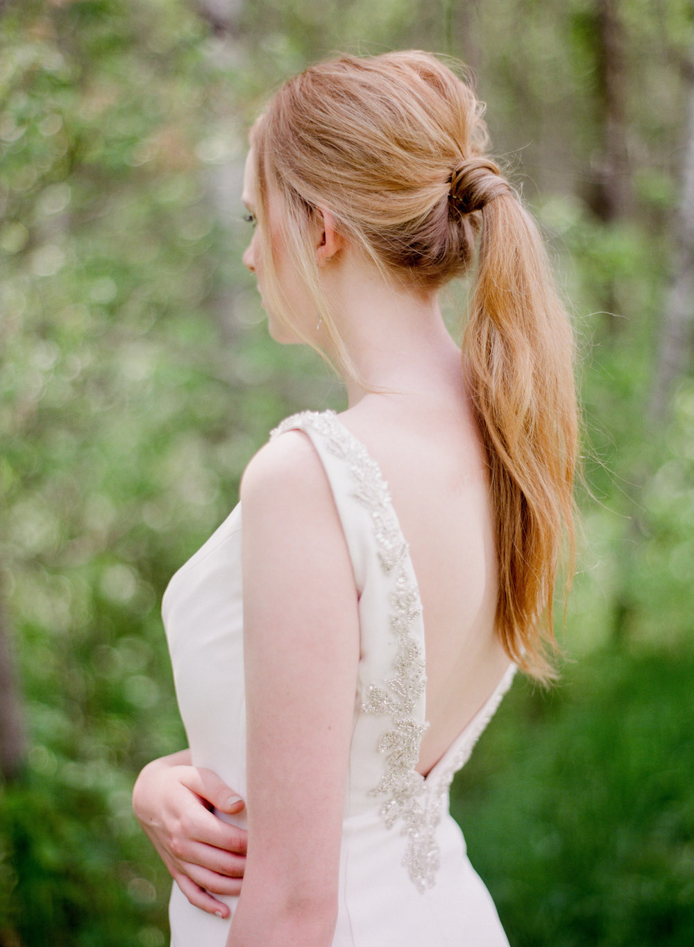 Ponytail Ideas for Wedding Day - Bridal Hair