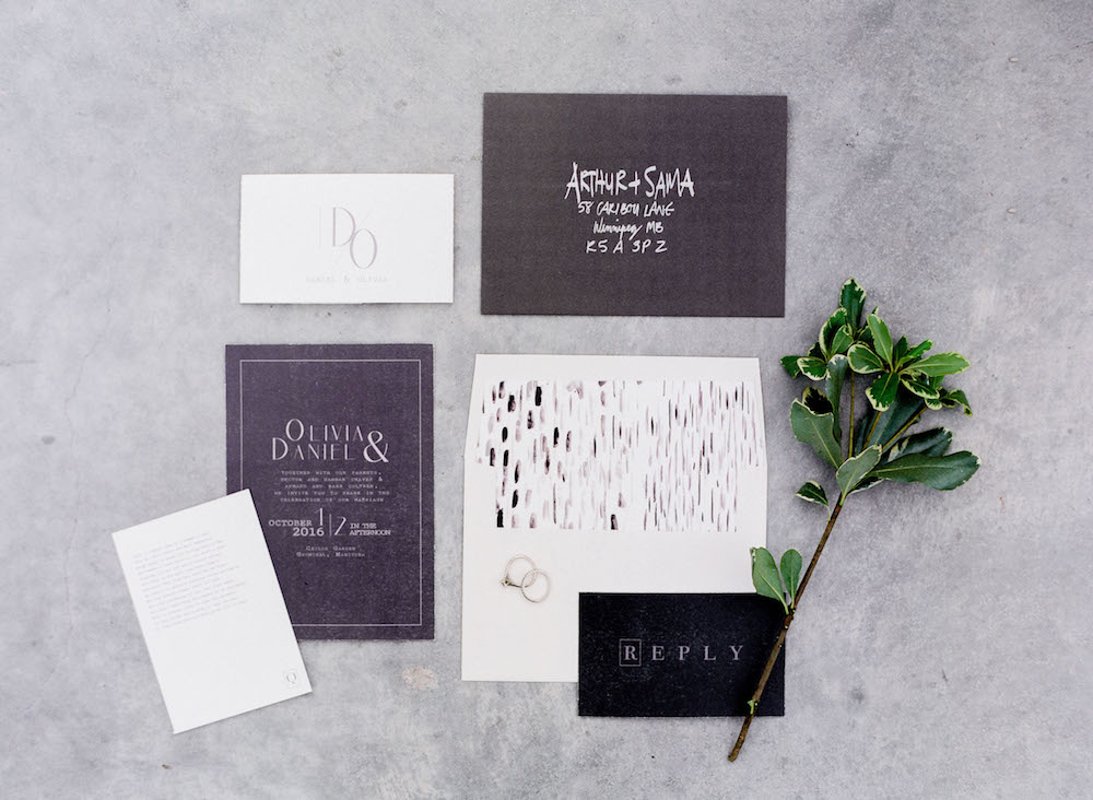 Modern Wedding Invitations - Wedding Invitation Trends