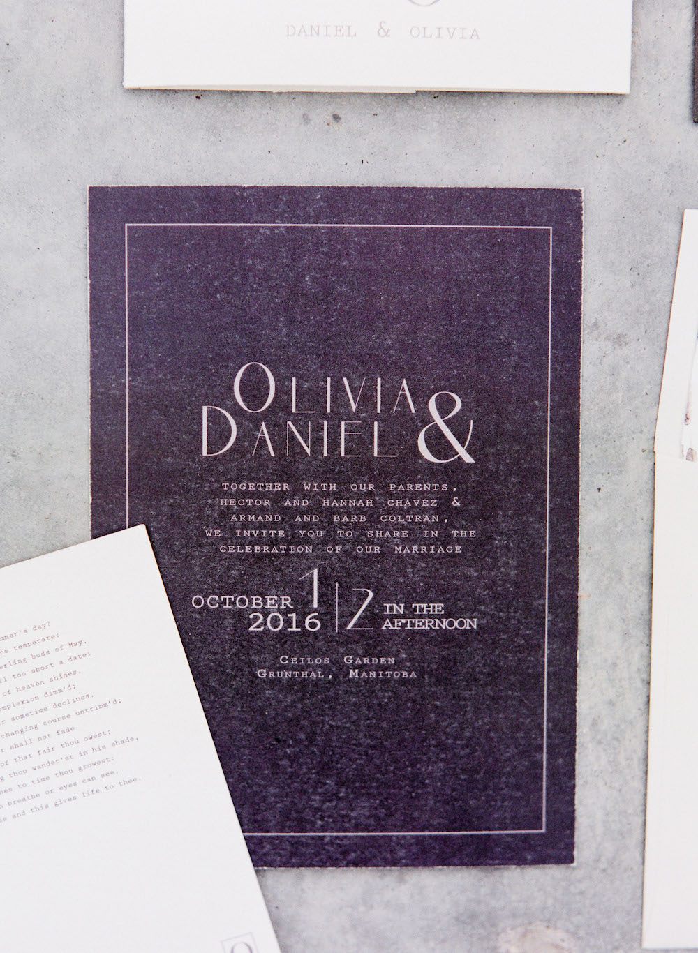 Wedding Invitations - Winnipeg Wedding Planning