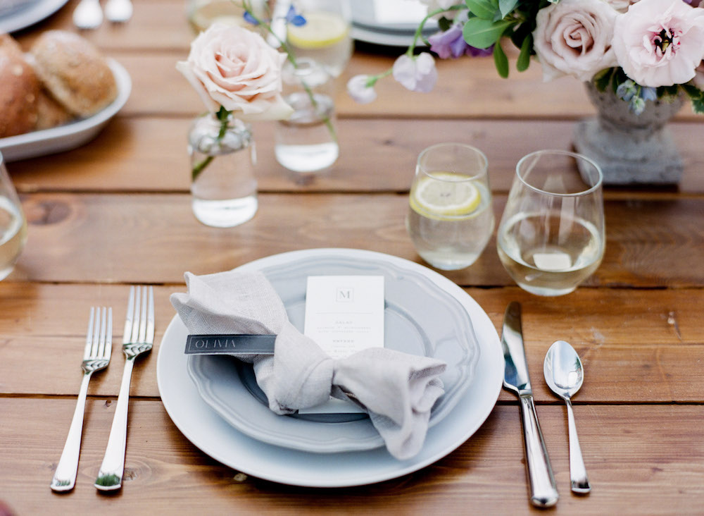 Pretty Place Settings - Wedding Decor